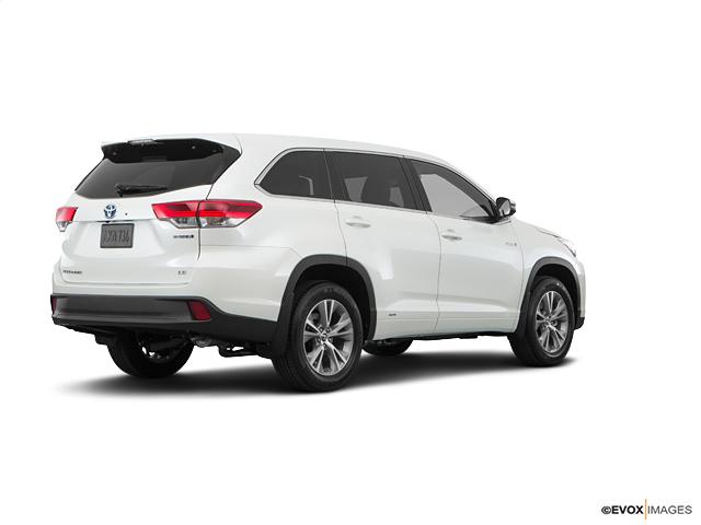 2018 Toyota Highlander Hybrid Hybrid Limited