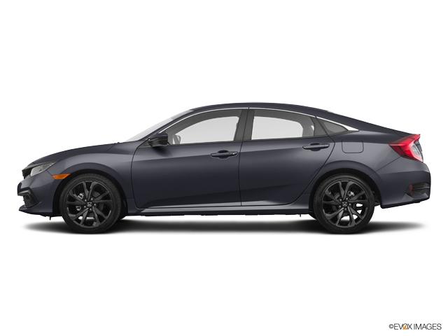 New 2019 Honda Civic Sedan in Davis, CA