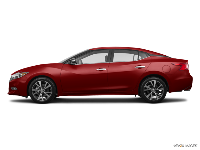 Beautiful Red Nissan Maxima 2016