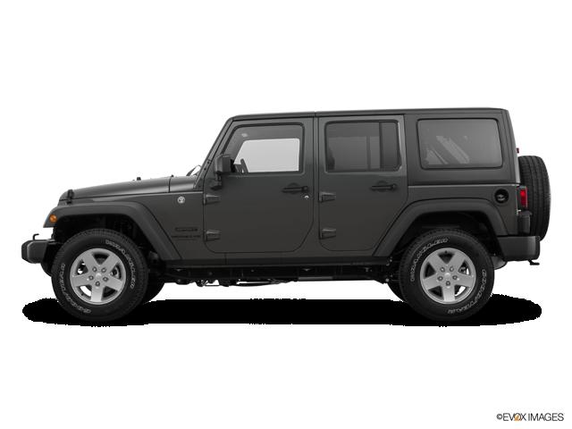 "2018 Jeep Wrangler JK Unlimited Sport S 4x4 w/ 2"" factory lift"