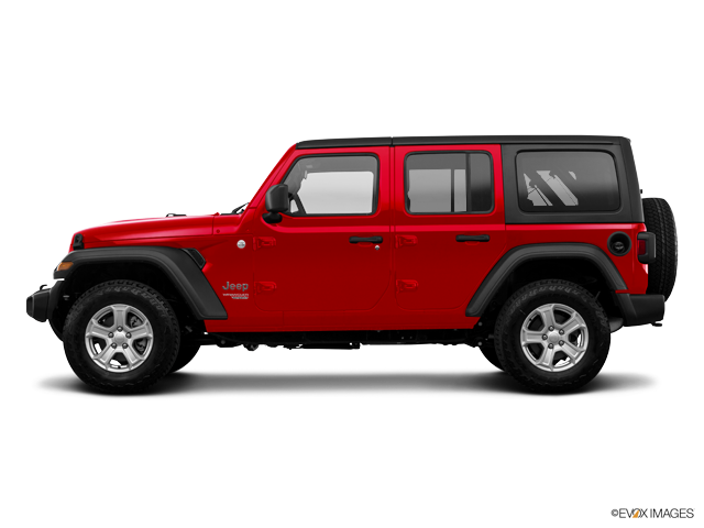 2018 Jeep Wrangler Unlimited Sport S 4x4 w/ Factory Lift