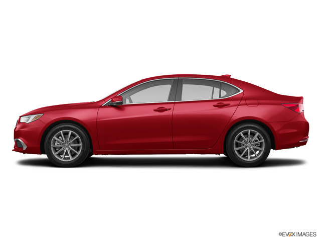 2019 Acura TLX with A-SPEC Pkg Red Leather