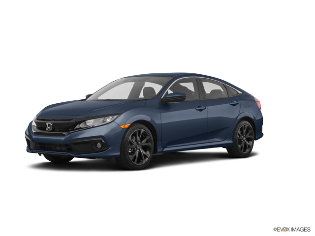 New 2019 Honda Civic Sedan in Midland, TX
