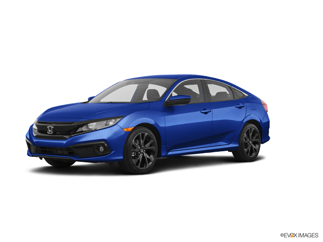 New 2019 Honda Civic Sedan in Davis, CA