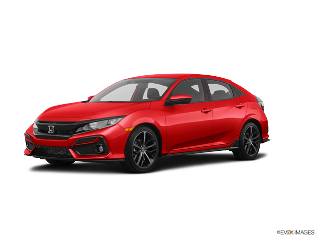 New 2020 Honda Civic Hatchback in Indio, CA