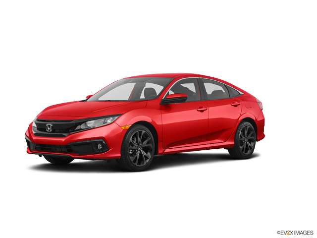 New 2020 Honda Civic Sedan in Columbus, IN