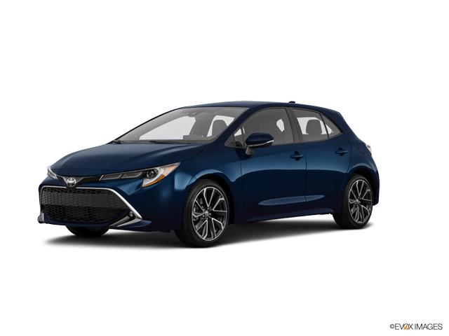 New 2020 Toyota Corolla Hatchback in Waco, TX