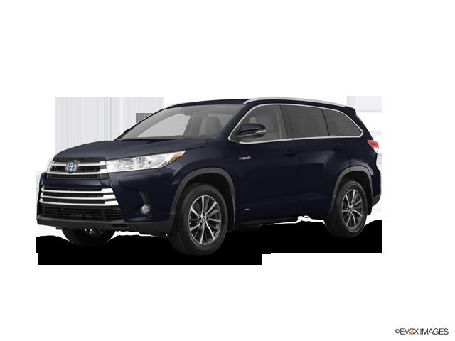 New 2017 Toyota Highlander Hybrid in Claremont, CA
